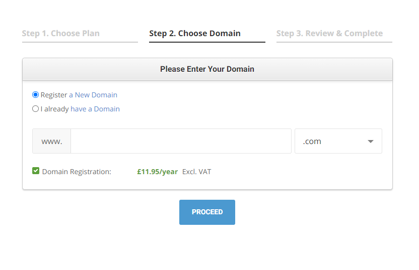 How to set up a domain name and website